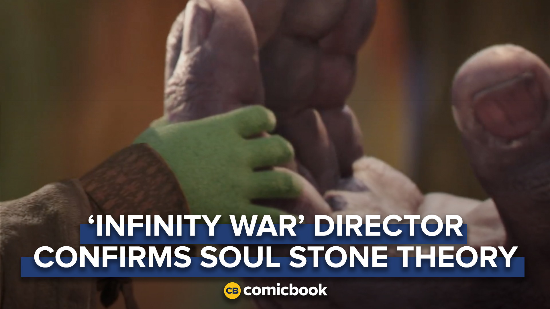 'Avengers: Infinity War' Director Confirms Soul Stone Theory screen capture
