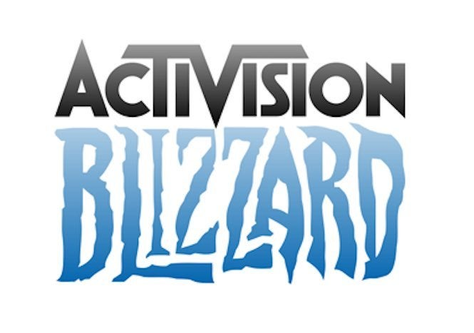 Activision Blizzard game publishers logo