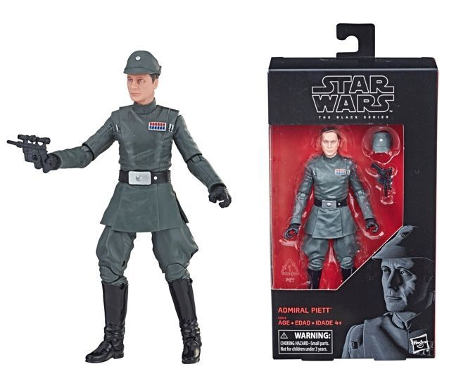 Free Comic Book Day May 2018: Exclusive The Black Series Admiral Piett Figure Arrives