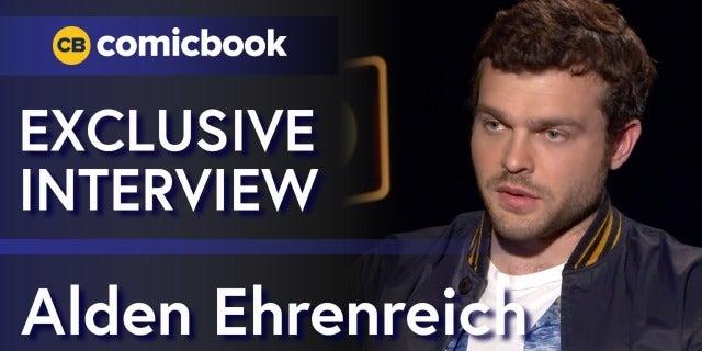 Alden Ehrenreich Talks 'Solo: A Star Wars Story' screen capture