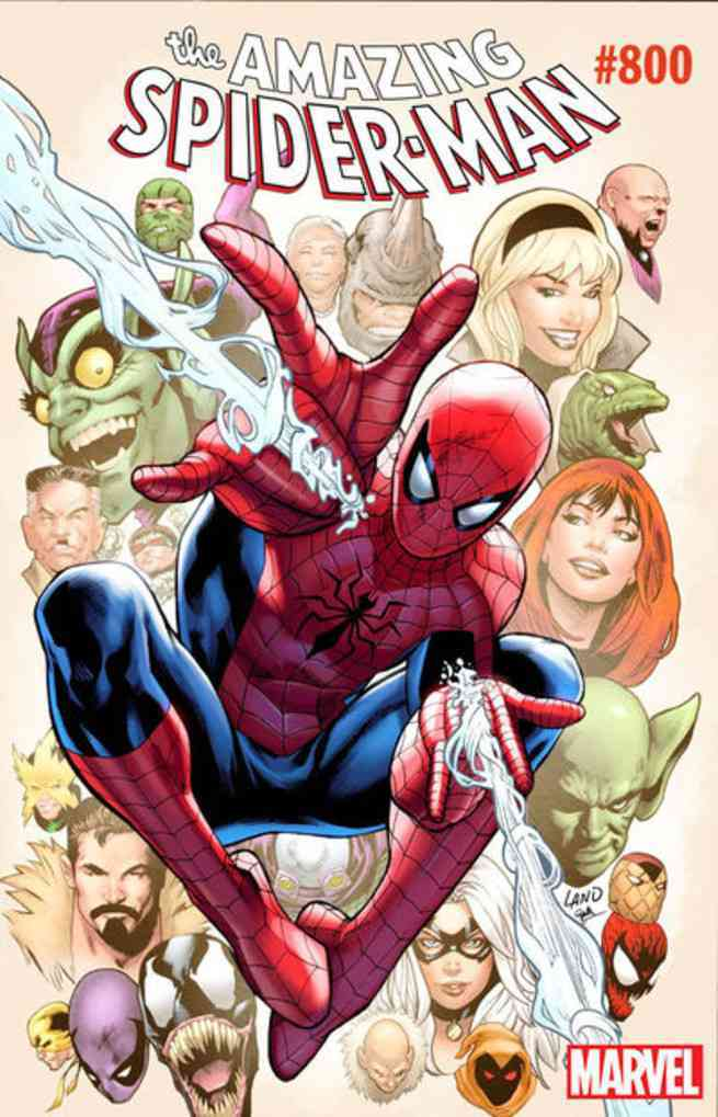 Amazing Spider-Man #800 Covers - Greg Land