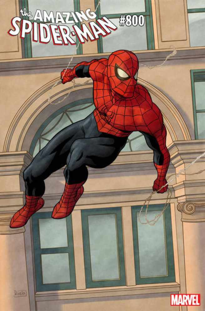 Amazing Spider-Man #800 Covers - Paolo Rivera