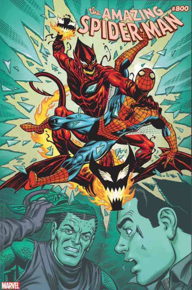Amazing Spider-Man #800 Covers - Ron Frenz