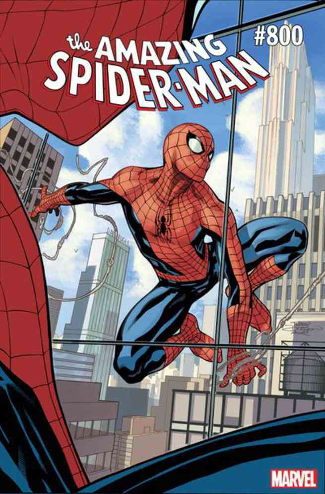 Amazing Spider-Man #800 Covers - Terry Dodson