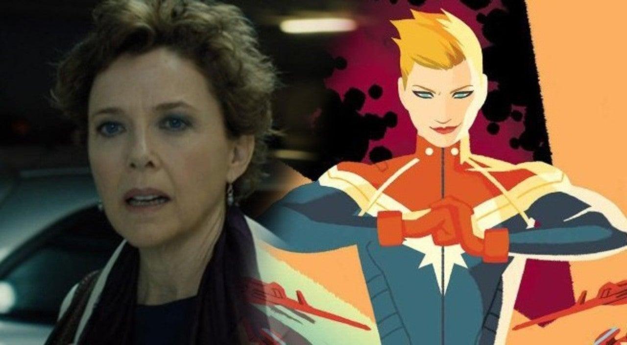 captain marvel': annette bening's character seemingly confirmed