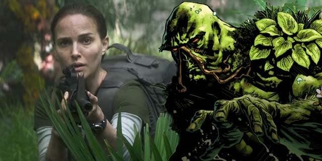 annihilation swamp thing natalie portman
