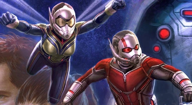 ant man and the wasp art book