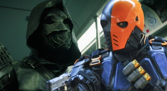 arrow prometheus vs deathstroke
