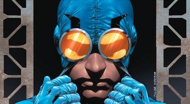 Arrow Season 7 Ted Kord Blue Beetle