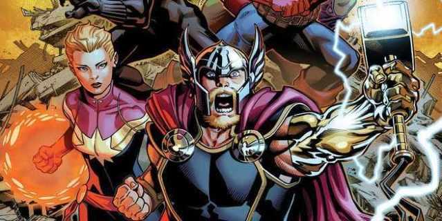 Avengers #1 Aaron - Cover