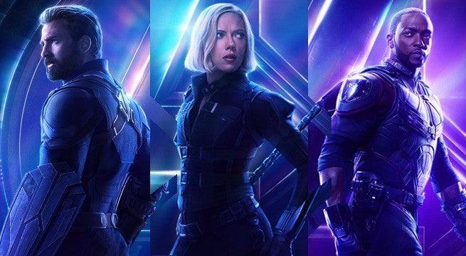 Avengers-Infinity-War-Character-Posters-Cap-Black-Widow-Falcon