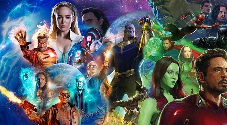 avengers infinity war dc legends of tomorrow
