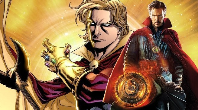 Avengers Infinity War Doctor Strange Adam Warlock Connection