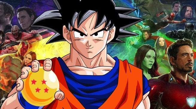 Avengers Infinity War Dragon Ball Z Connections