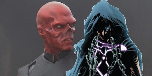 Avengers Infinity War Red Skull the Unseen