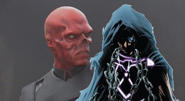 Avengers Infinity War Red Skull the Unseen