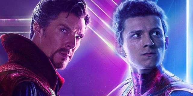 avengers infinity war tom holland benedict cumberbatch