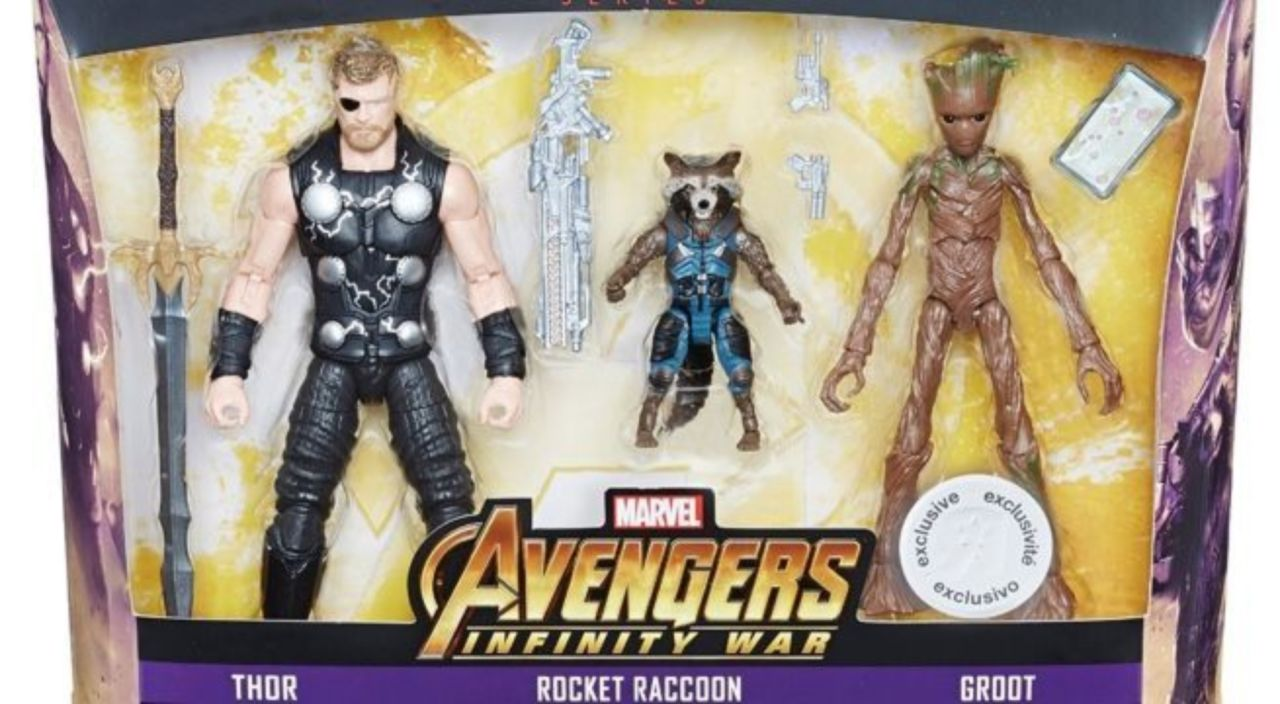 Marvel Select Avengers Infinity War Chris Hemsworth Thor /& Groot Action Figure