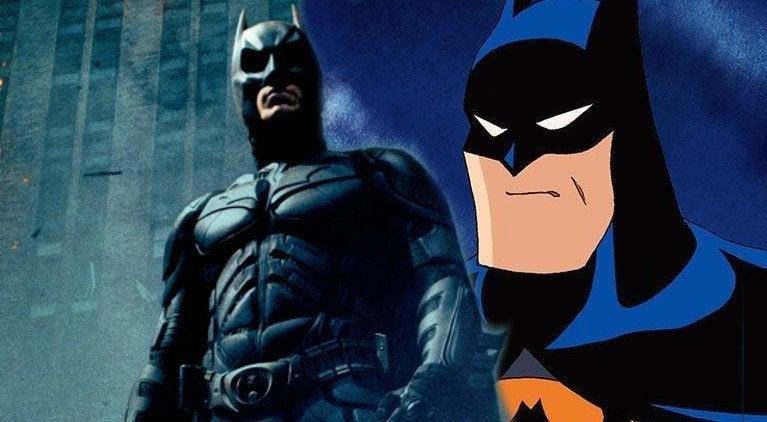 batman Animated Christian Bale
