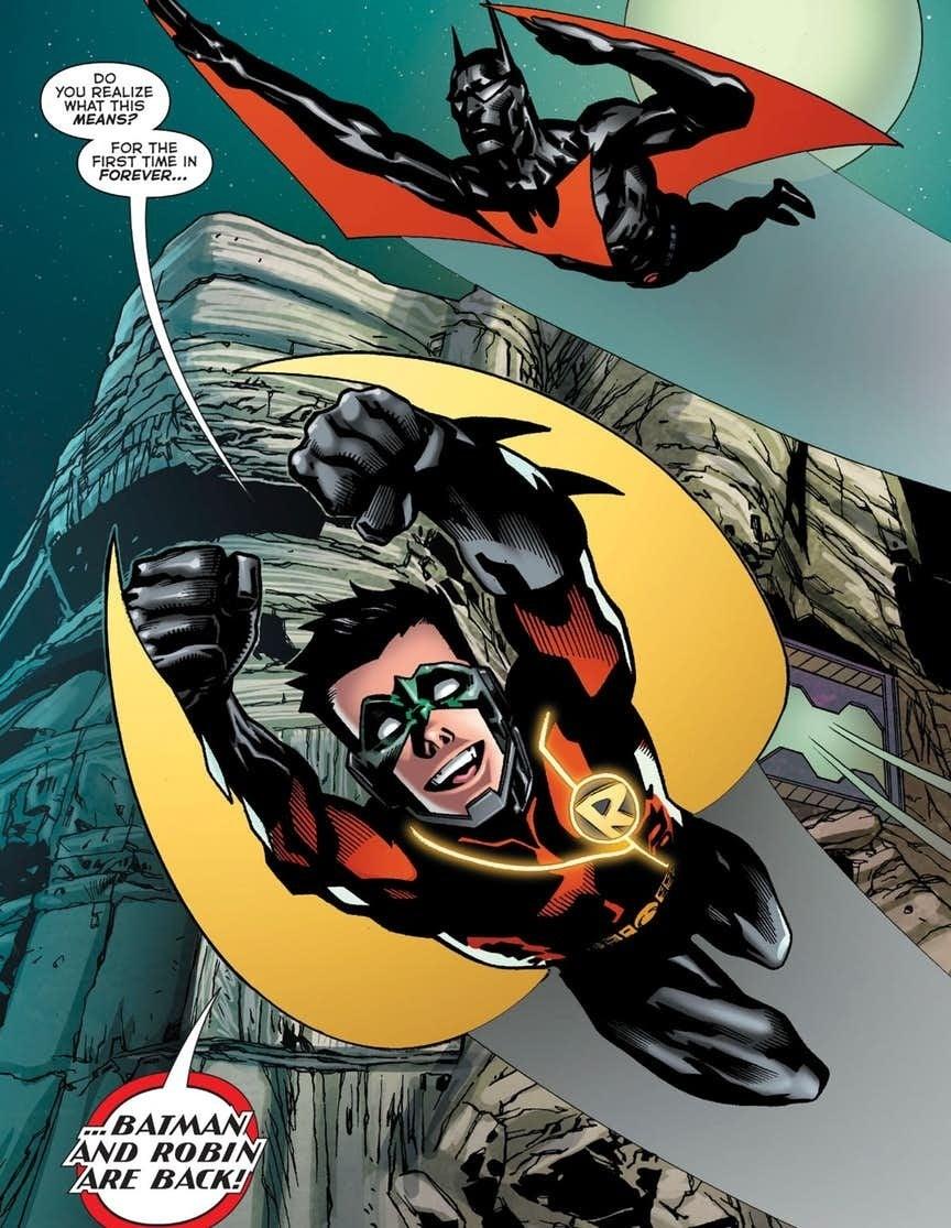 batman beyond robin suit