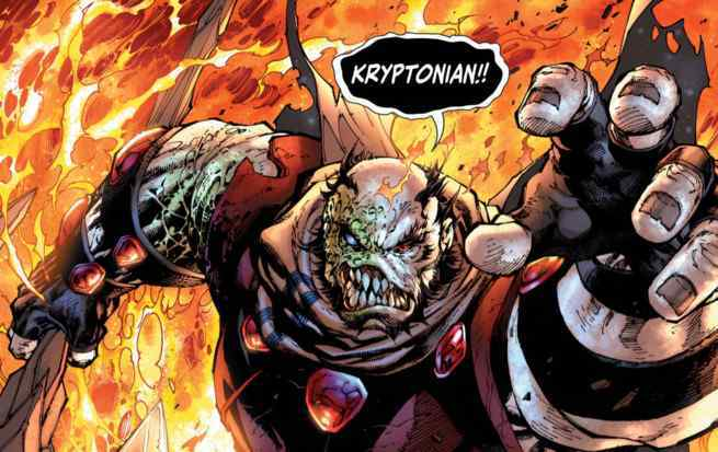 Bendis Man of Steel - Krypton
