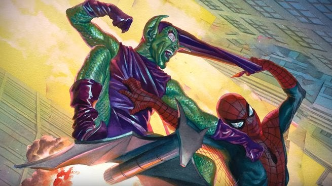 Best Spider-Man Green Goblin Fights - Cover
