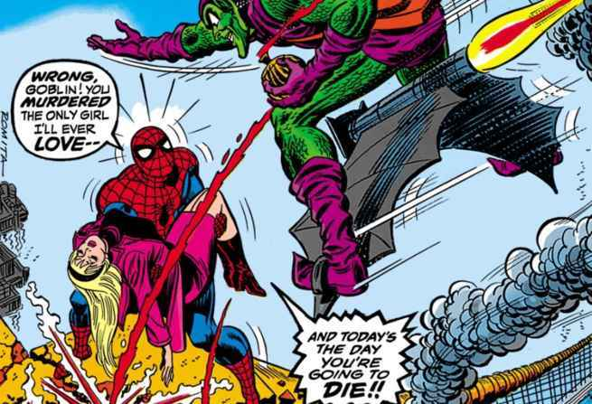 Best Spider-Man Green Goblin Fights - The Night Gwen Stacy Died