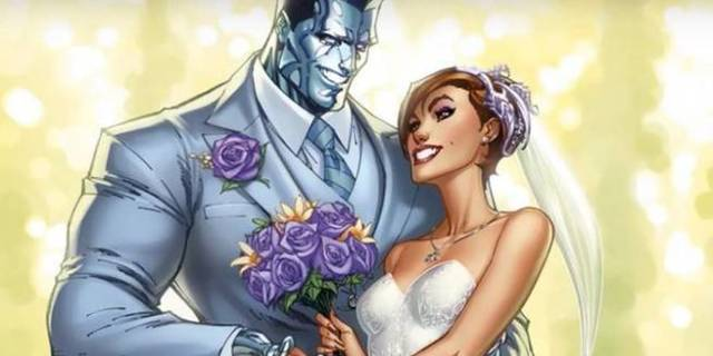Best Superhero Weddings - Cover Colossus Kitty