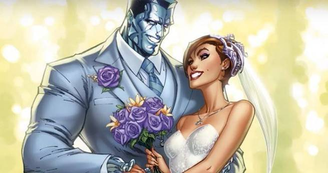 Best Superhero Weddings - Cover Colossus Kitty