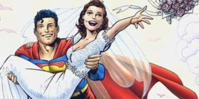 Best Superhero Weddings - Superman Lois Lane