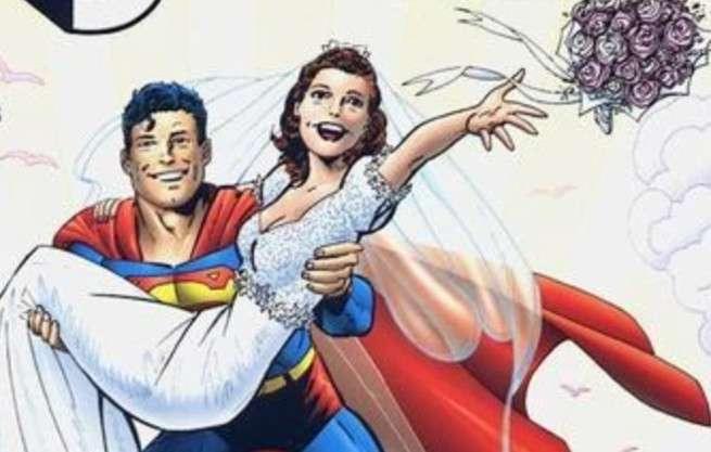 Best Superhero Weddings - Superman Lois Lane