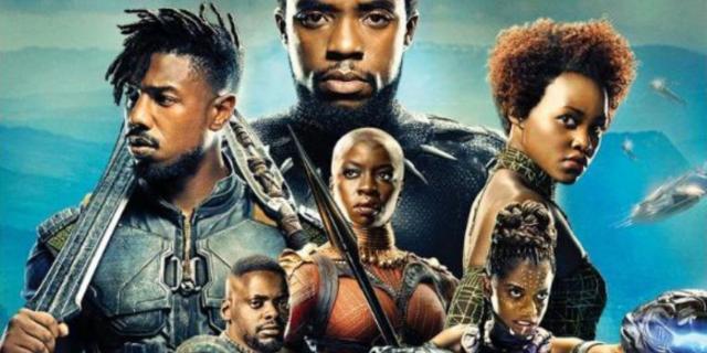 Black Panther blu-ray