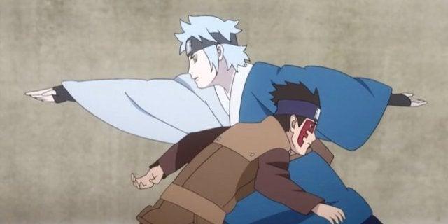Boruto Episode 60 Mitsuki Surrender Shinki Fight