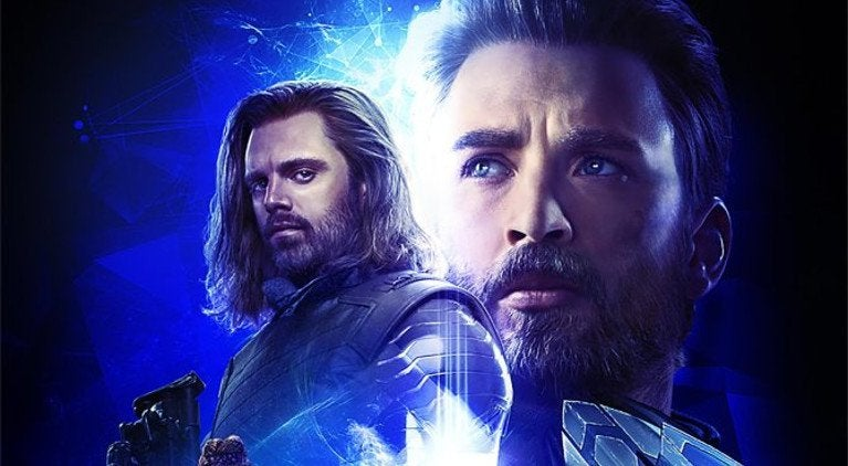 Bucky Captain America Avengers Infinity War