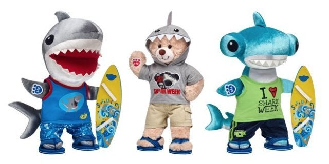 build-a-bear-shark-week