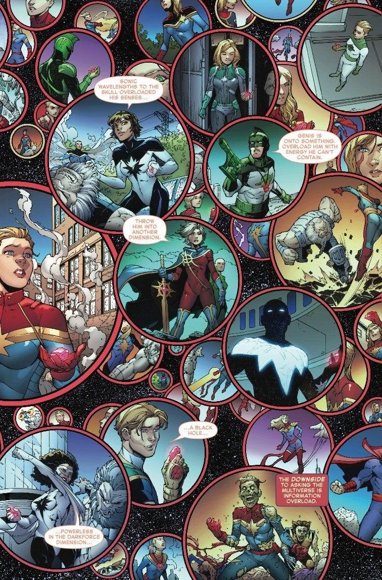 captain marvel suit comics