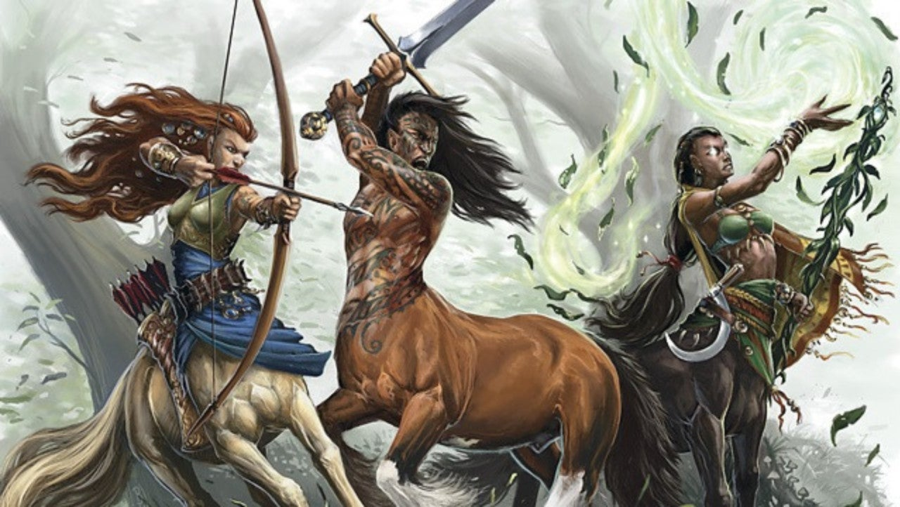 Dungeons & Dragons' Players Ponder Whether a Centaur Can