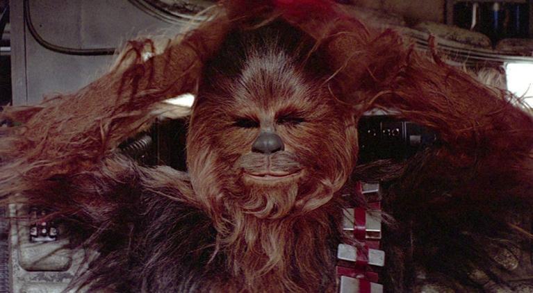 chewbacca hug