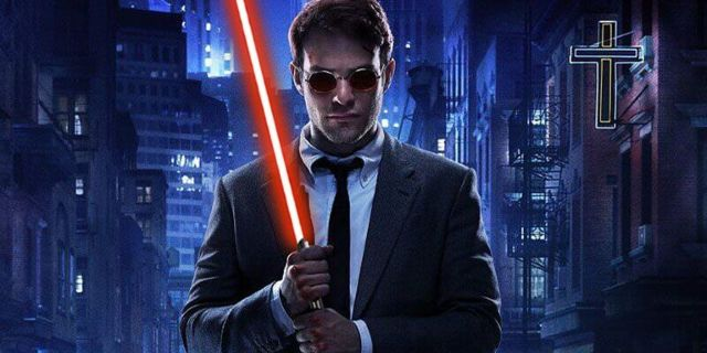 Fan Adds Lightsabers to the Iconic Daredevil Stairway Fight Scene