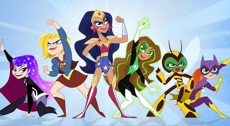 DC Super Hero GIrls Reboot