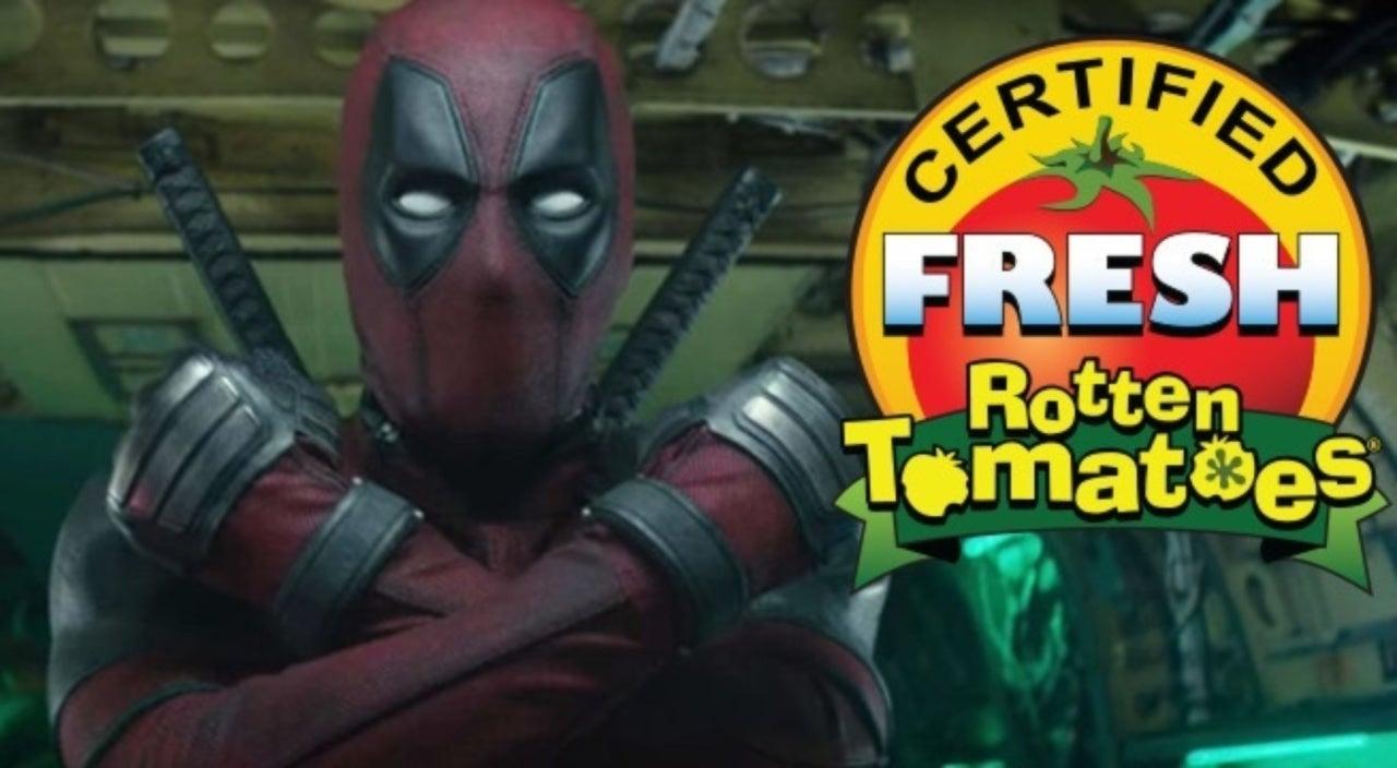 deadpool 2' is certified fresh on rotten tomatoes