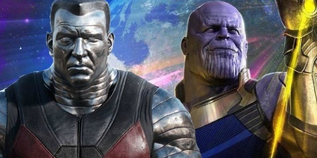deadpool 2 colossus thanos avengers infinity war