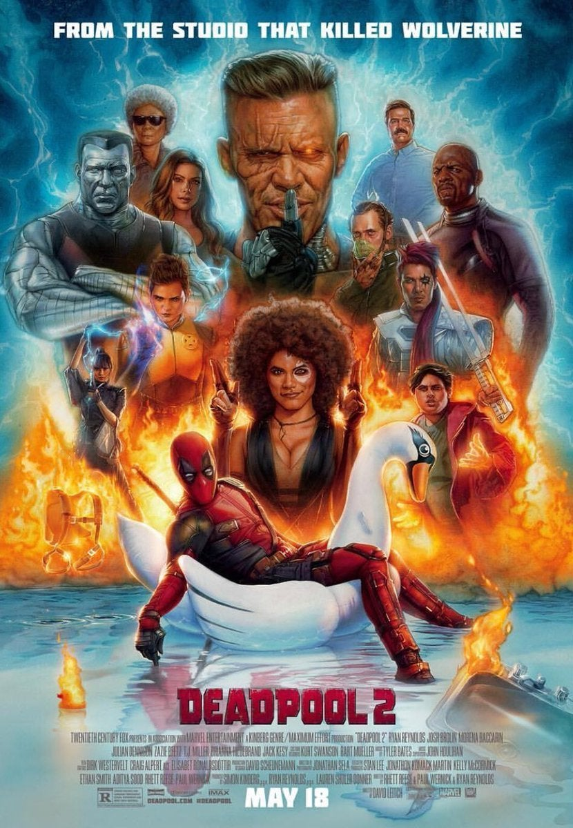 Deadpool 2 Poster From Studio That Killed Wolverine
