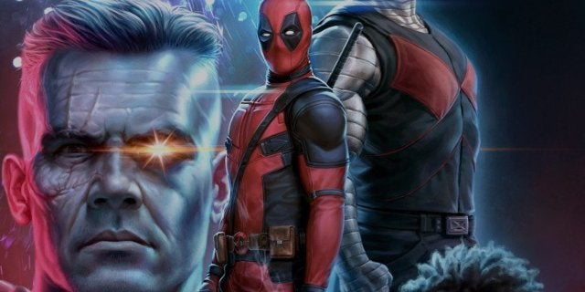 Deadpool 2 Rob Liefeld Poster