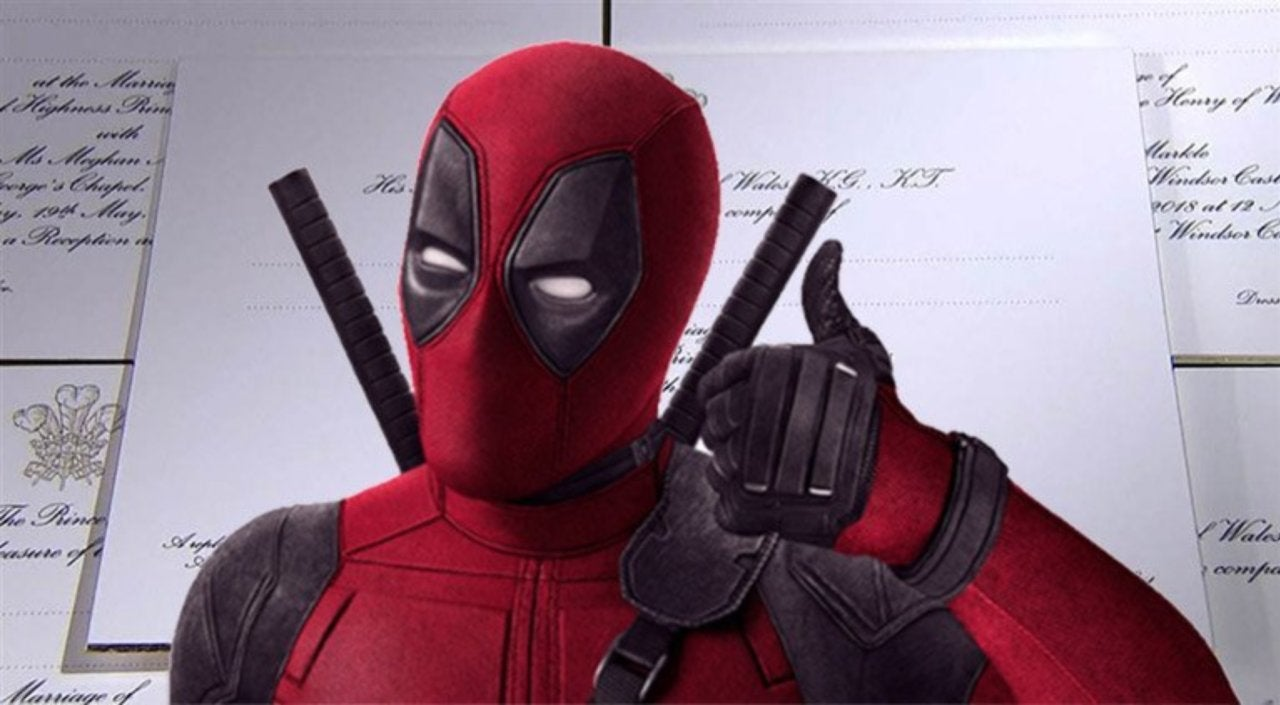 Deadpool 2\' Sent out Its Own Version of Royal Wedding Invitations