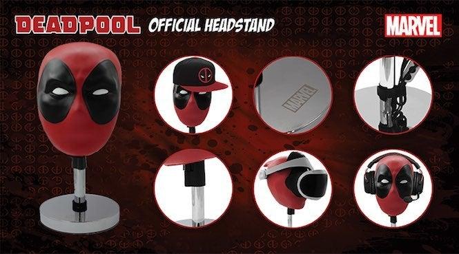 Deadpool Head 3