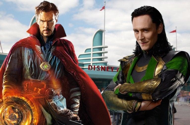 Disneyland Resort Doctor Strange Loki comicbookcom