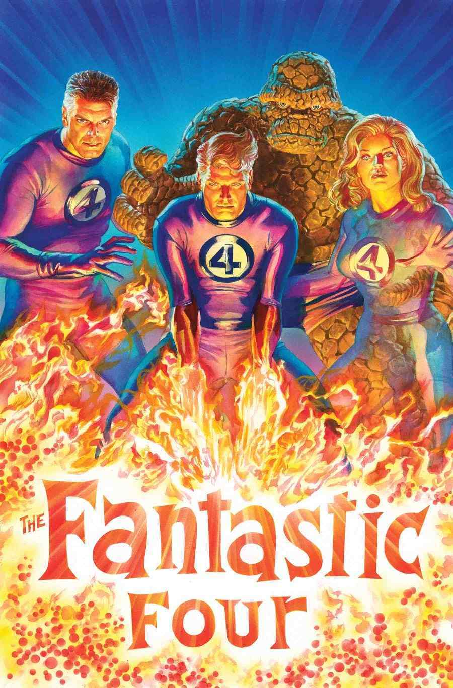 Fantastic Four Alex Ross