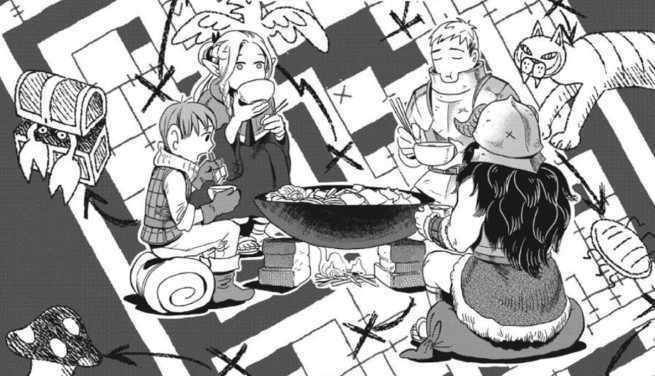 Food Comics - Delicious In Dungeon