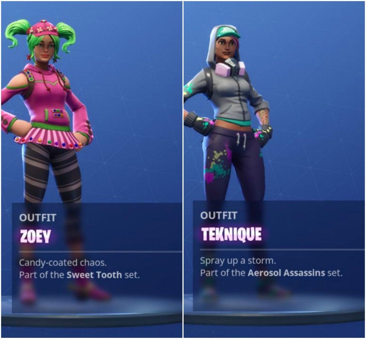 fortnite battle collage 2 - battle pass fortnite skins